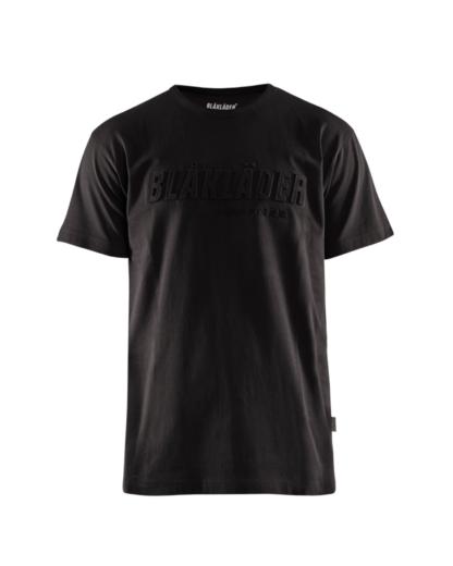 Blåkläder 3431 Miesten T-paita 3D Musta